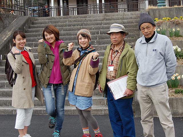 歴史体験ツアー(中野観音堂)