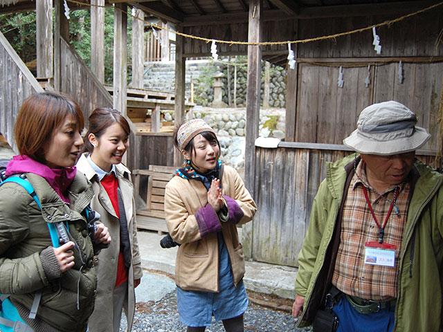 歴史体験ツアー(井川神社)